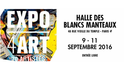 EXPO4ART - HALLE DES BLANCS MANTEAUX - PARIS