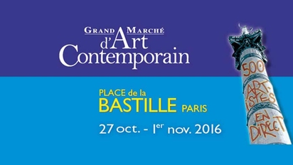 GMAC PARIS EXPOSITION BASTILLE ART CONTEMPORAIN